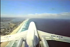 Tail view of Gold Coast Qld