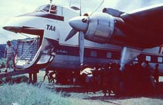 Parking a Bristol freighter