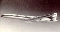 French Caravelle Jet
